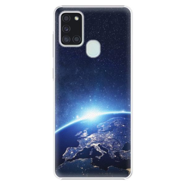 Plastové pouzdro iSaprio - Earth at Night - Samsung Galaxy A21s