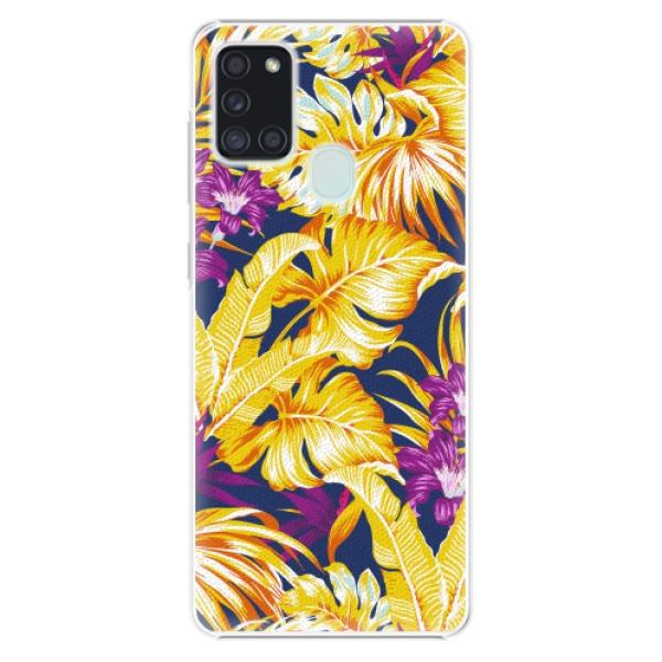 Plastové pouzdro iSaprio - Tropical Orange 04 - Samsung Galaxy A21s