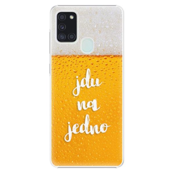 Plastové pouzdro iSaprio - Jdu na jedno - Samsung Galaxy A21s