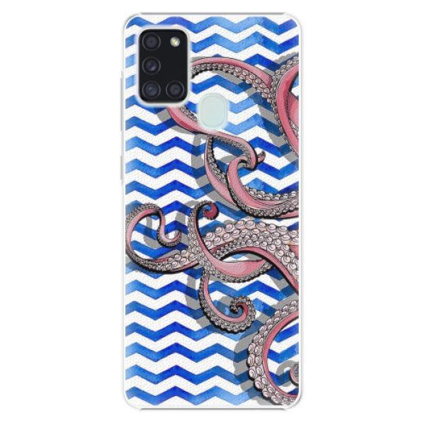 Plastové pouzdro iSaprio - Octopus - Samsung Galaxy A21s