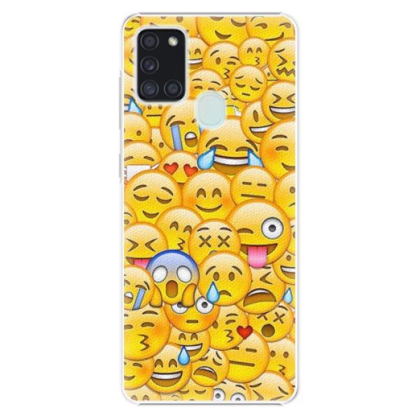 Plastové pouzdro iSaprio - Emoji - Samsung Galaxy A21s
