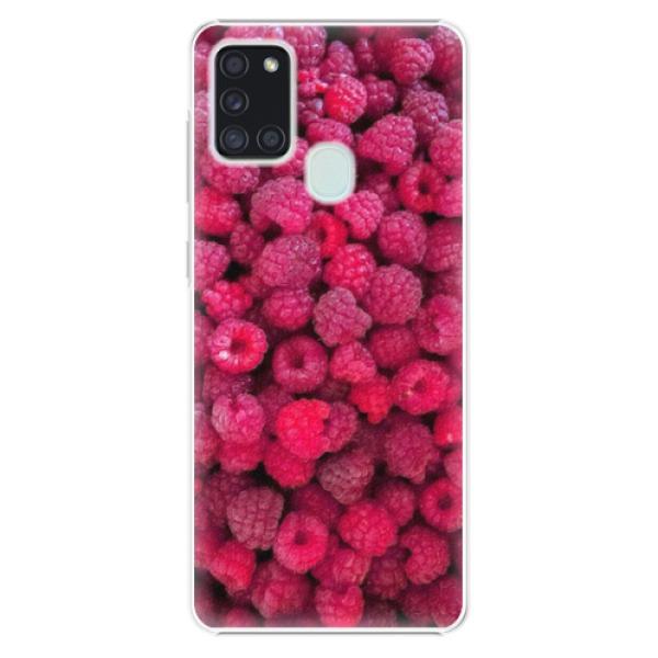 Plastové pouzdro iSaprio - Raspberry - Samsung Galaxy A21s