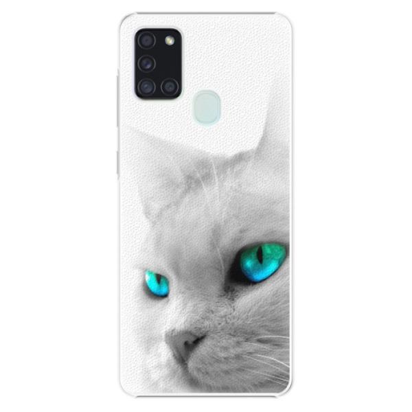 Plastové pouzdro iSaprio - Cats Eyes - Samsung Galaxy A21s