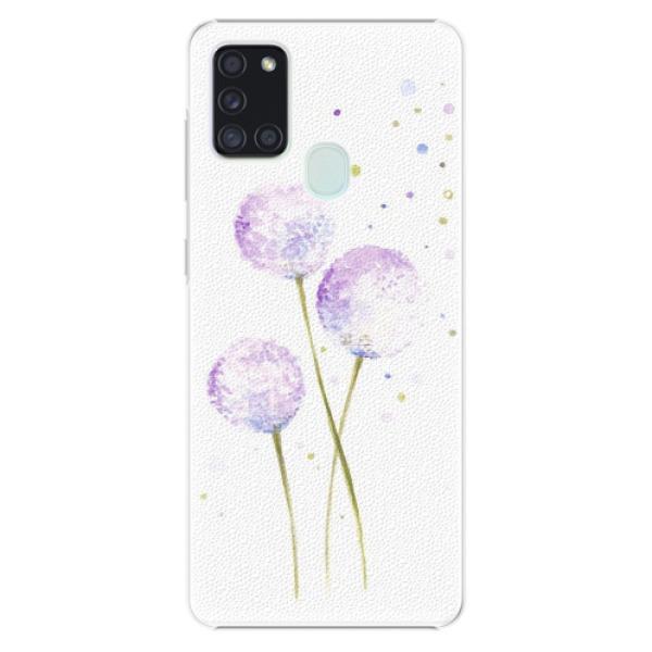 Plastové pouzdro iSaprio - Dandelion - Samsung Galaxy A21s