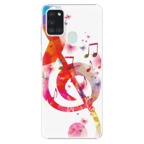 Plastové pouzdro iSaprio - Love Music - Samsung Galaxy A21s