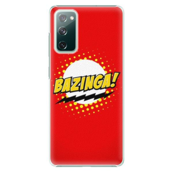 Plastové pouzdro iSaprio - Bazinga 01 - Samsung Galaxy S20 FE