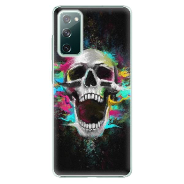 Plastové pouzdro iSaprio - Skull in Colors - Samsung Galaxy S20 FE