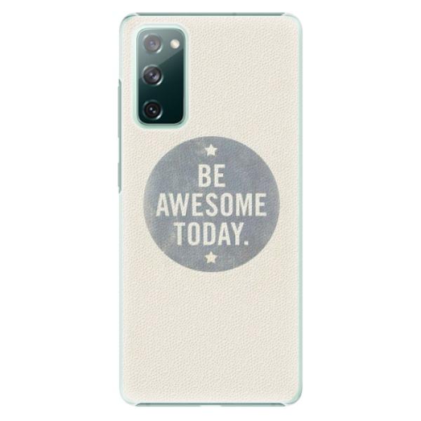 Plastové pouzdro iSaprio - Awesome 02 - Samsung Galaxy S20 FE