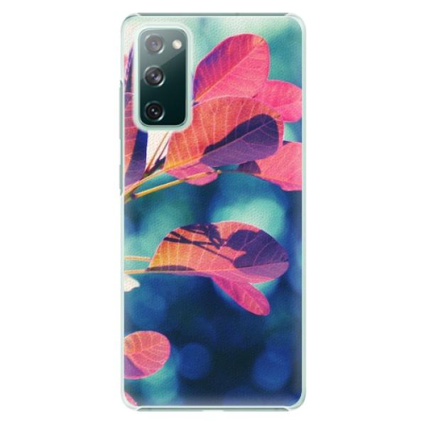 Plastové pouzdro iSaprio - Autumn 01 - Samsung Galaxy S20 FE