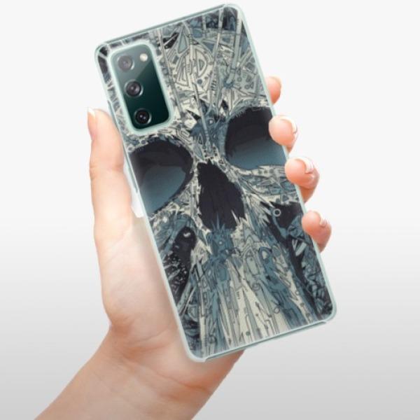 Plastové pouzdro iSaprio - Abstract Skull - Samsung Galaxy S20 FE