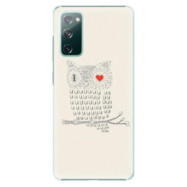 Plastové pouzdro iSaprio - I Love You 01 - Samsung Galaxy S20 FE