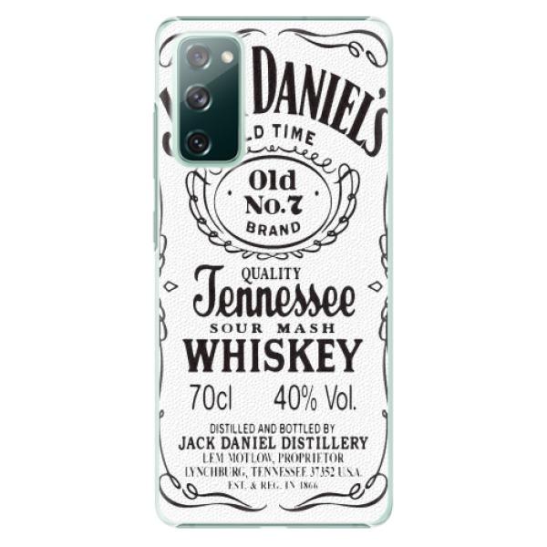 Plastové pouzdro iSaprio - Jack White - Samsung Galaxy S20 FE