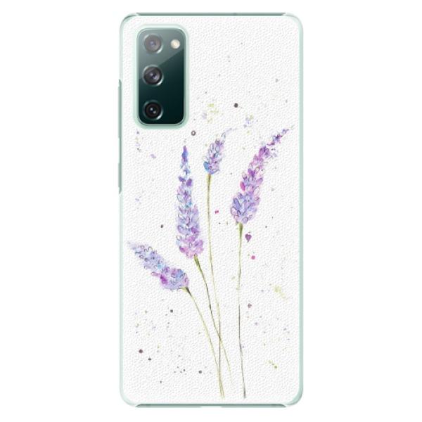 Plastové pouzdro iSaprio - Lavender - Samsung Galaxy S20 FE