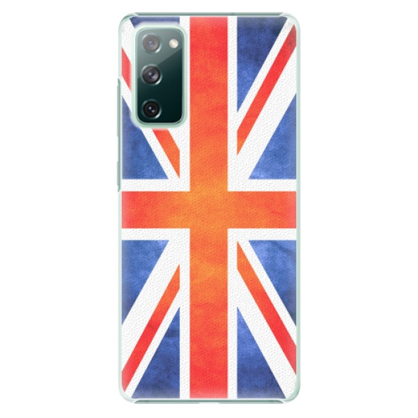 Plastové pouzdro iSaprio - UK Flag - Samsung Galaxy S20 FE