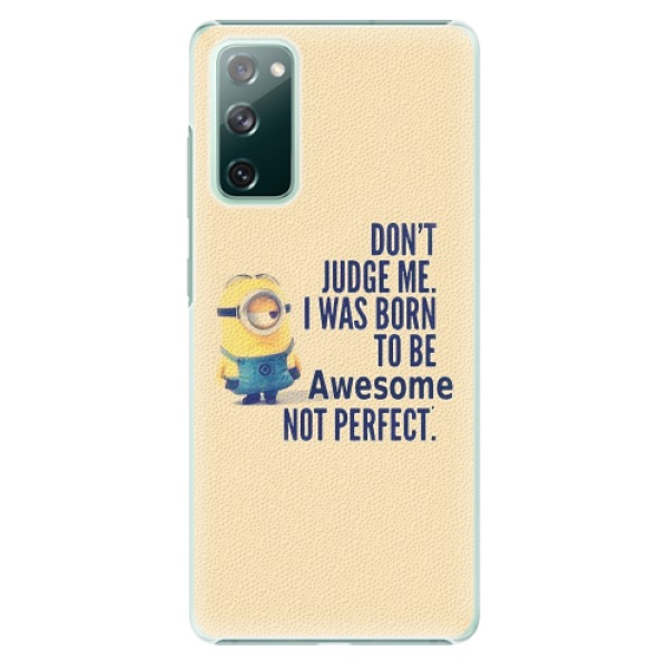 Plastové pouzdro iSaprio - Be Awesome - Samsung Galaxy S20 FE