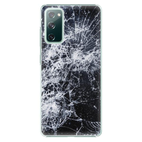 Plastové pouzdro iSaprio - Cracked - Samsung Galaxy S20 FE