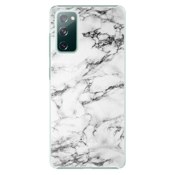 Plastové pouzdro iSaprio - White Marble 01 - Samsung Galaxy S20 FE