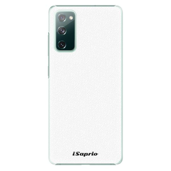Plastové pouzdro iSaprio - 4Pure - bílý - Samsung Galaxy S20 FE