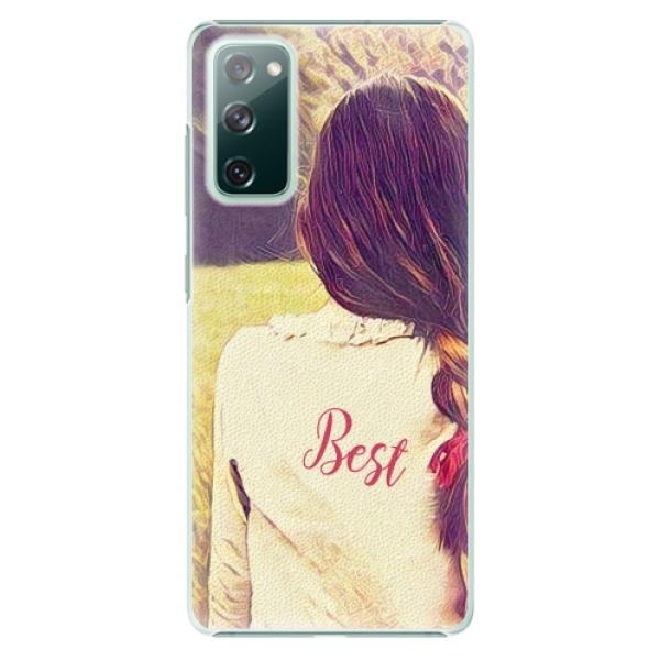 Plastové pouzdro iSaprio - BF Best - Samsung Galaxy S20 FE