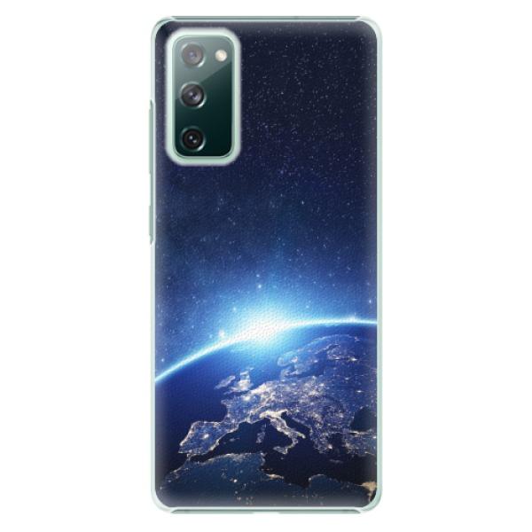 Plastové pouzdro iSaprio - Earth at Night - Samsung Galaxy S20 FE
