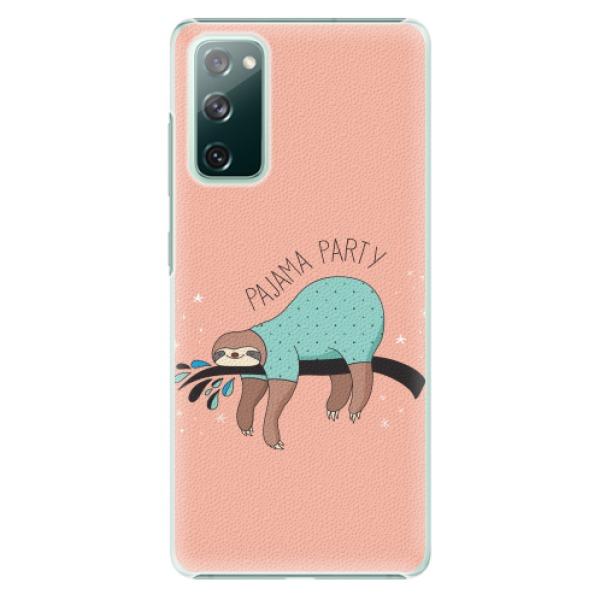 Plastové pouzdro iSaprio - Pajama Party - Samsung Galaxy S20 FE