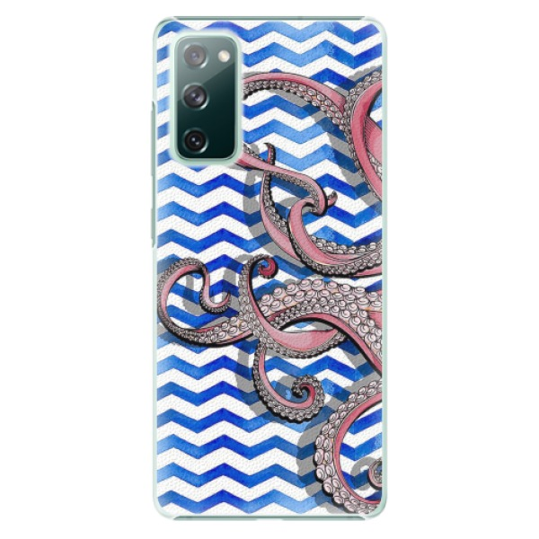 Plastové pouzdro iSaprio - Octopus - Samsung Galaxy S20 FE