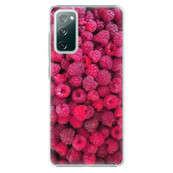 Plastové pouzdro iSaprio - Raspberry - Samsung Galaxy S20 FE