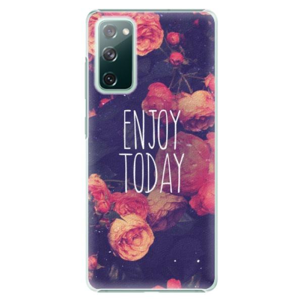 Plastové pouzdro iSaprio - Enjoy Today - Samsung Galaxy S20 FE