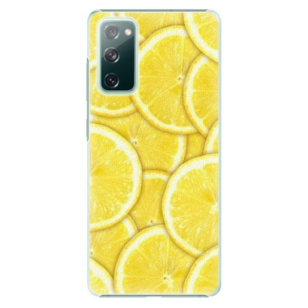 Plastové pouzdro iSaprio - Yellow - Samsung Galaxy S20 FE
