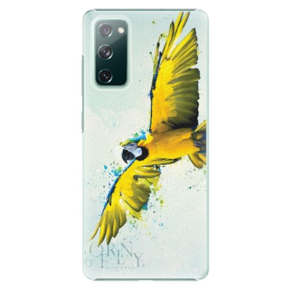 Plastové pouzdro iSaprio - Born to Fly - Samsung Galaxy S20 FE