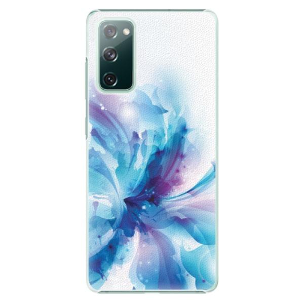 Plastové pouzdro iSaprio - Abstract Flower - Samsung Galaxy S20 FE