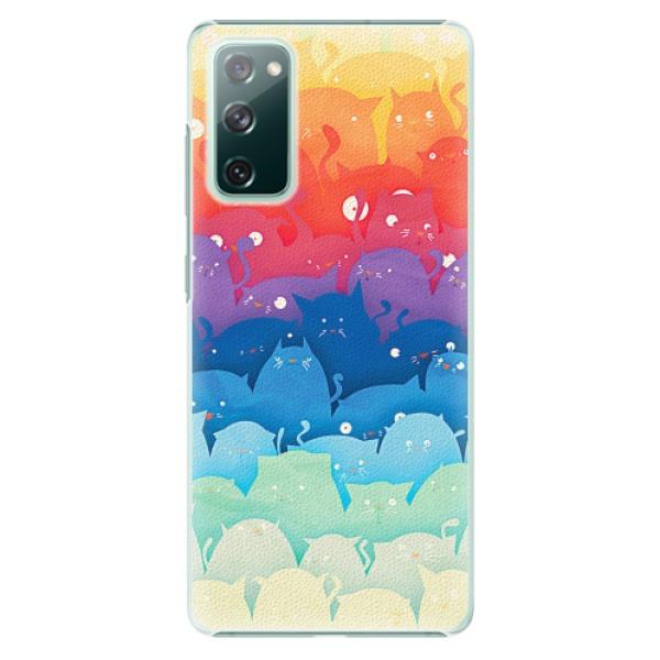 Plastové pouzdro iSaprio - Cats World - Samsung Galaxy S20 FE