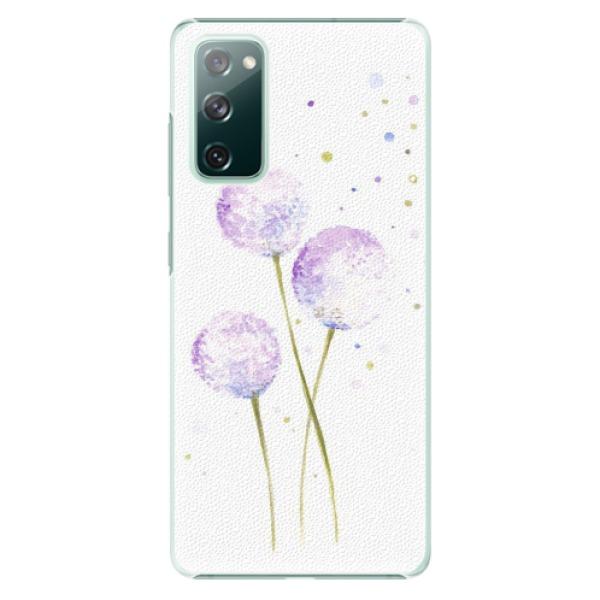 Plastové pouzdro iSaprio - Dandelion - Samsung Galaxy S20 FE