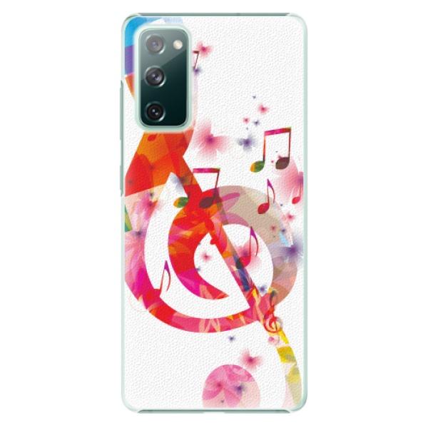 Plastové pouzdro iSaprio - Love Music - Samsung Galaxy S20 FE