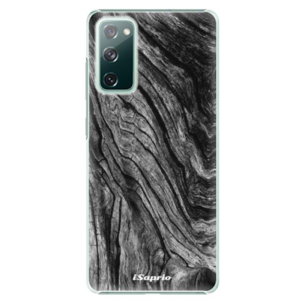 Plastové pouzdro iSaprio - Burned Wood - Samsung Galaxy S20 FE