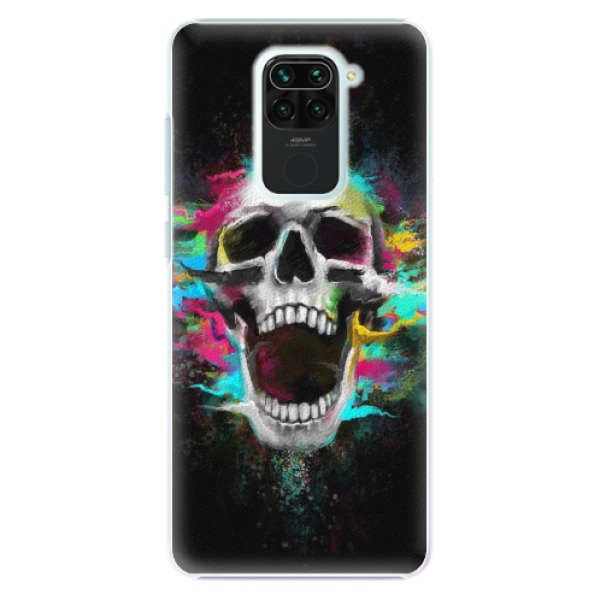 Plastové pouzdro iSaprio - Skull in Colors - Xiaomi Redmi Note 9
