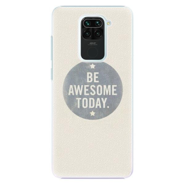 Plastové pouzdro iSaprio - Awesome 02 - Xiaomi Redmi Note 9