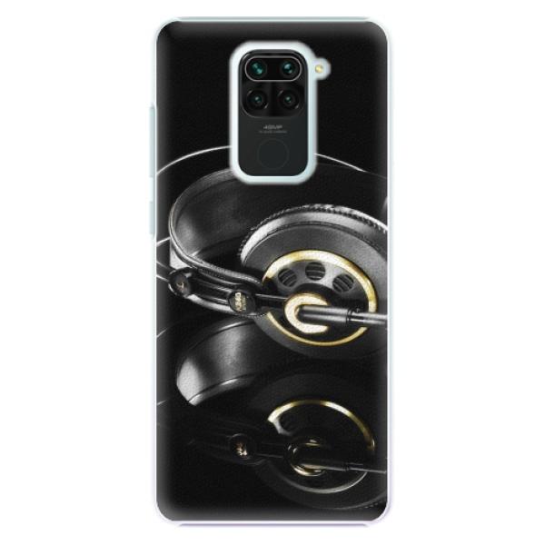 Plastové pouzdro iSaprio - Headphones 02 - Xiaomi Redmi Note 9