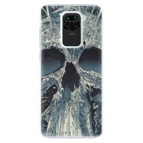 Plastové pouzdro iSaprio - Abstract Skull - Xiaomi Redmi Note 9