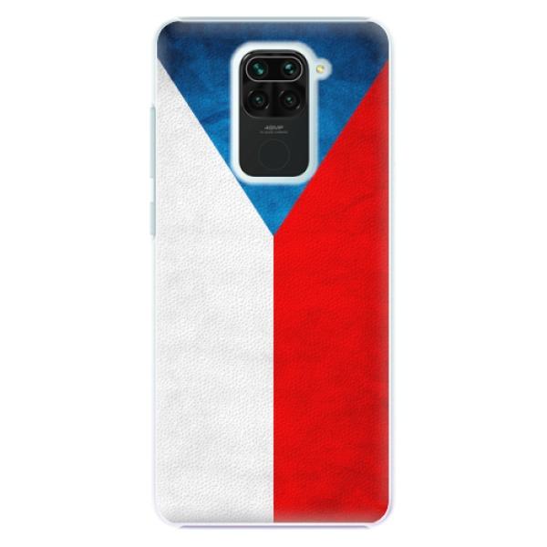 Plastové pouzdro iSaprio - Czech Flag - Xiaomi Redmi Note 9