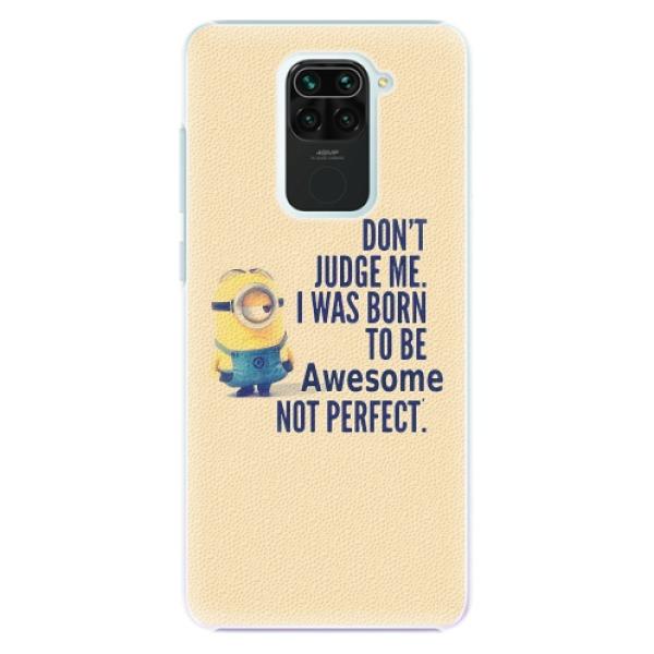 Plastové pouzdro iSaprio - Be Awesome - Xiaomi Redmi Note 9