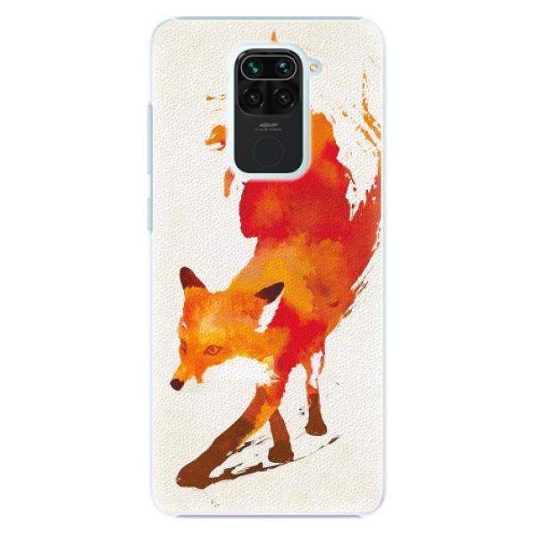 Plastové pouzdro iSaprio - Fast Fox - Xiaomi Redmi Note 9