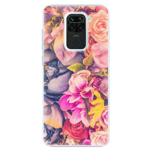 Plastové pouzdro iSaprio - Beauty Flowers - Xiaomi Redmi Note 9