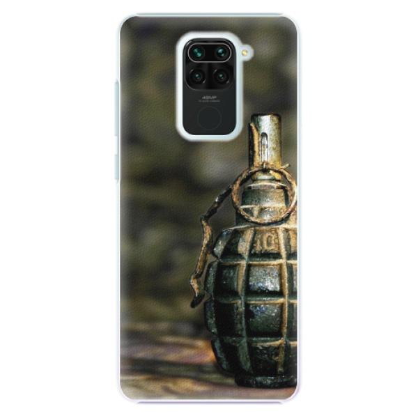 Plastové pouzdro iSaprio - Grenade - Xiaomi Redmi Note 9