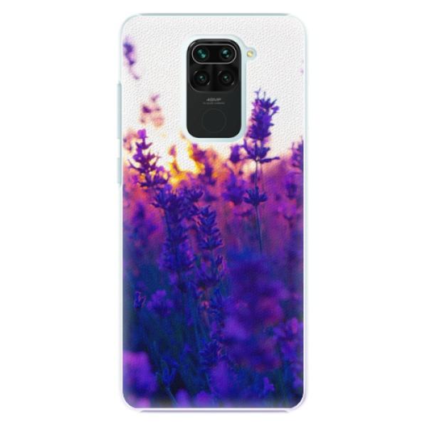 Plastové pouzdro iSaprio - Lavender Field - Xiaomi Redmi Note 9