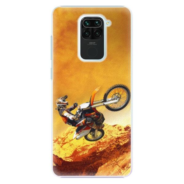 Plastové pouzdro iSaprio - Motocross - Xiaomi Redmi Note 9