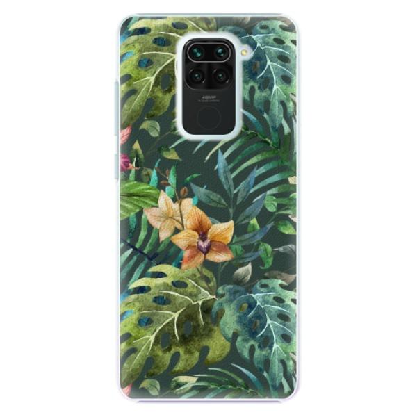 Plastové pouzdro iSaprio - Tropical Green 02 - Xiaomi Redmi Note 9