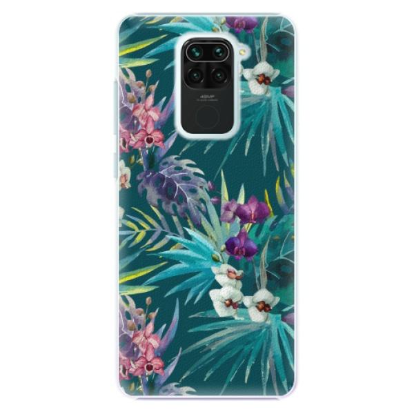 Plastové pouzdro iSaprio - Tropical Blue 01 - Xiaomi Redmi Note 9