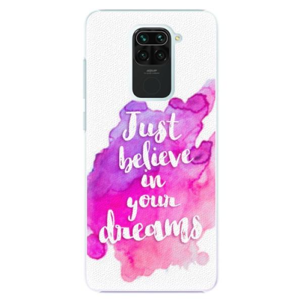 Plastové pouzdro iSaprio - Believe - Xiaomi Redmi Note 9