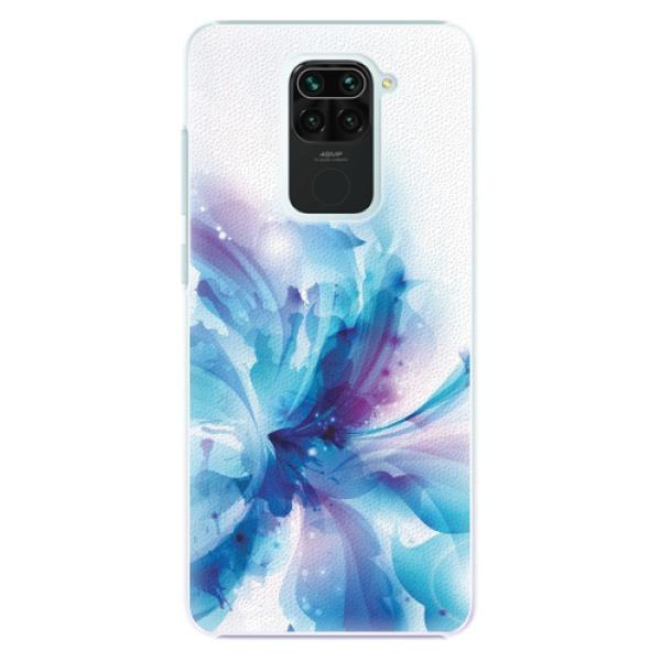 Plastové pouzdro iSaprio - Abstract Flower - Xiaomi Redmi Note 9